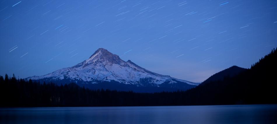 Mount Hood, Trinity Lake, Oregon